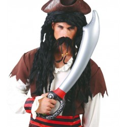 Espada pirata hinchable 70 cm