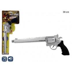 PISTOLA COLT SHERIFF CON SONIDO 39 CM