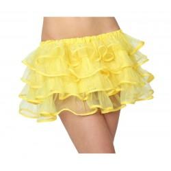 Tutu naranja amarillo falda fluor 14830 talla m-l