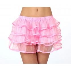 Falda rosa neon tutu fluor talla 2 m-l adulto