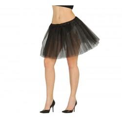 Tutu negro para mujer adulto 18486 falda
