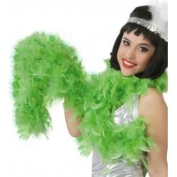 Boa pluma verde pistacho 180 cm 40 gr charleston