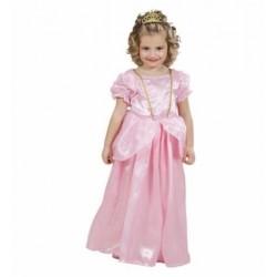 Disfraz princesa rosa talla 1-3 años infantil niña