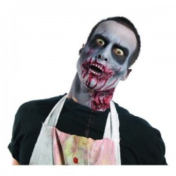 Maquillaje zombie kit 19988 con dentadura sangre e