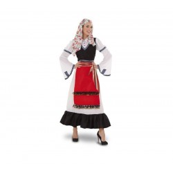 Disfraz griega talla m-l adulta mujer