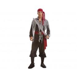 Disfraz pirata aventurero fantasma talla m-l adult