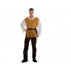 Disfraz mesonero adulto talla m-l medieval campesi