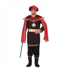 Disfraz cortesano medieval talla unica l