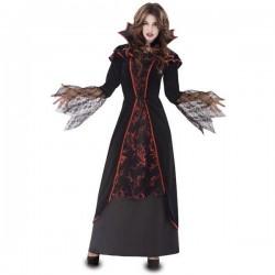 Disfraz vampiresa elegante talla m-l vampira