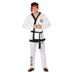 DISFRAZ KARATEKA RYU STREET FIGHTER TALLA M L