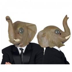 Careta elefante mascara dumbo con trompa y cuernos 0613167db7d5