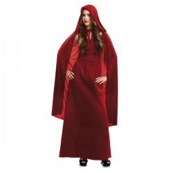 Disfraz hechicera roja talla m-l melisandre fuego