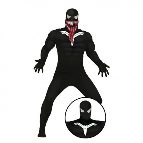 fe070353dff99 Disfraz de venom spiderman negro para adulto barato. Tienda de ...