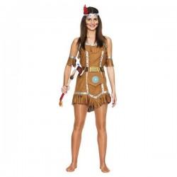Disfraz india salvaje mujer adulta talla m-l