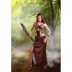 Disfraz guerrera amazona xena talla unica mujer