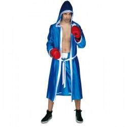 Disfraz boxeador azul pujil talla unica adulto