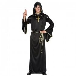 Disfraz religioso tunica de secta maligna adulto