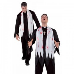 Disfraz cura poseido karras adulto halloween