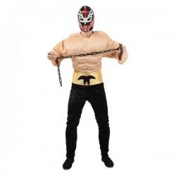 Disfraz luchador mejicano adulto talla 52