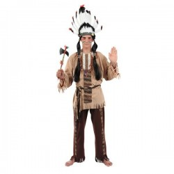 Disfraz indio adulto talla 52
