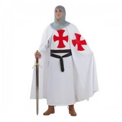 Disfraz templario medieval hombre talla 48 adulto