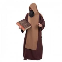 Disfraz monje medieval adulto talla 52
