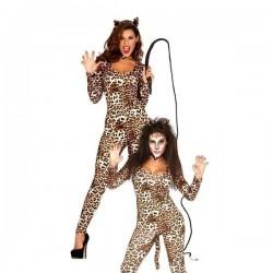 Disfraz leoparda talla m-l mujer leopardo 84369