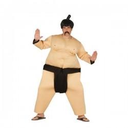 Disfraz luchador de sumo gordo talla l adulto