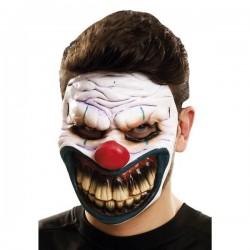 Mascara payaso maligno careta dentadura