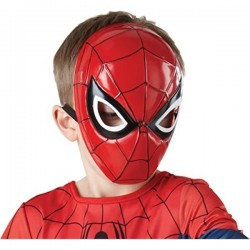Mascara spiderman 1/2 infantil 35634