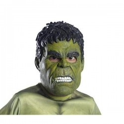 Mascara hulk deluxe infantil 36244