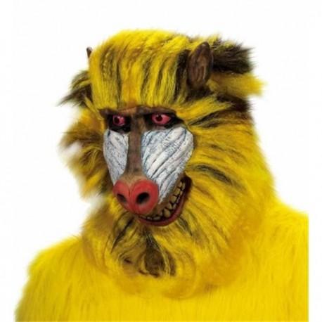 Mascara babuino con pelo mono rafiki 8384u careta 6239d0b4d0c4