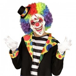 Mascara payaso asesino media careta 00833 terror