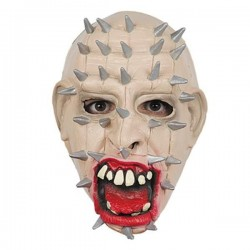 Mascara clavos pinhead careta