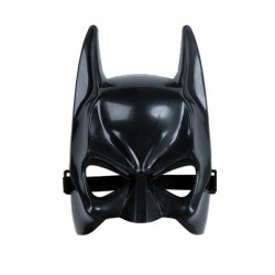 Mascara murcielago batman plastico duro