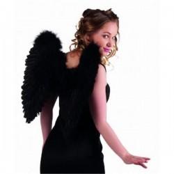 Alas negras plumas angel negro