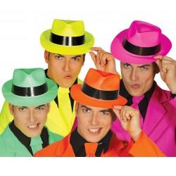 Sombrero gangster plastico