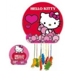 PINATA HELLO KITTY ROJA GRANDE 24152