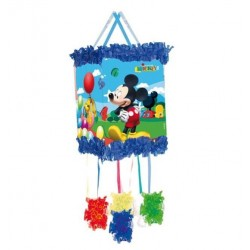PINATA MICKEY MOUSE GLOBOS CON ANTIFAZ
