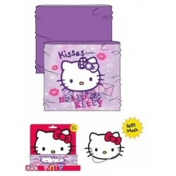 Braga cuello hello kitty con careta carton regalo