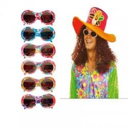 Gafas flores hippie años 60 6723j 6 modelos surtid