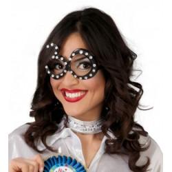 Gafas 30 cumpleaños negras diamantes 7122 gui