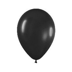 GLOBO NEGRO FASHION SOLIDO R 12 50 UDS SEMPERTEX