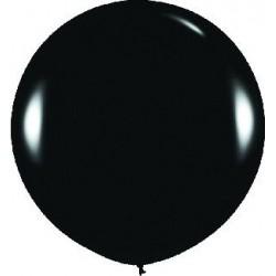 GLOBO BALON NEGRO FASHION SOLIDO R 36 SEMPERTEX