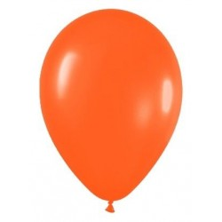GLOBO NARANJA FASHION SOLIDO R 12 50 UDS SEMPERTE