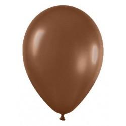 Globo chocolate fashion solido r-12 50 uds sempert