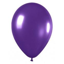 Globo violeta metal r-12 50 uds sempertex