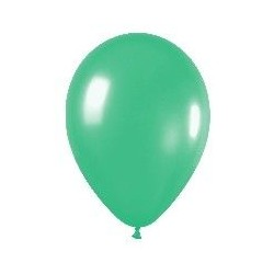 GLOBO LATEX SOLIDO VERDE R 5 125CM 100 UDS SEMPERTEX