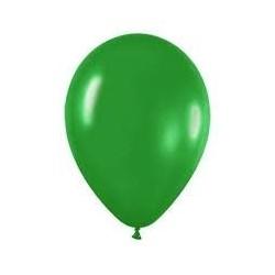 Globo verde selva fashion solido r-12 50 uds sem