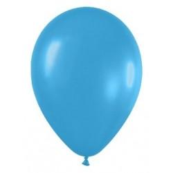 Globo azul neon r-12 30cm 50uds sempertex